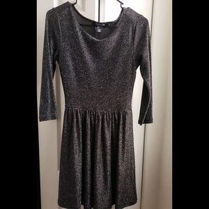 Forever21 Black Sequin Sparkly Dress